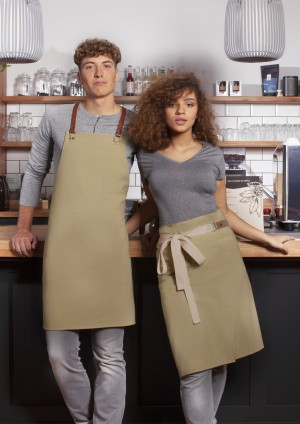 EKO zapaska Waist Apron GREEN-GENERATION from Recycled Plastic (kolor: pebble grey)