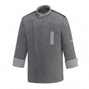 Bluza kucharska TWINS GREY MIX