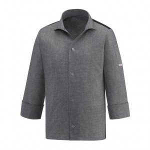 Bluza kucharska VIP GREY MIX