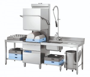 Zmywarka gastro. kapturowa DS 2500eco