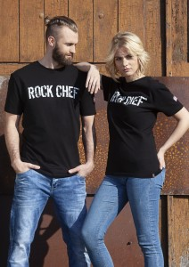 T-shirt UNISEX ROCK CHEF - Stage 2