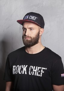 Czapka Flat Cap ROCK CHEF STAGE 2