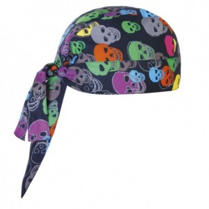 Bandana kucharska COLOR SKULLS - 2 szt.