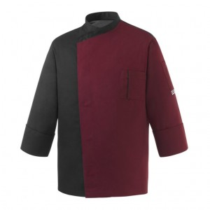 Bluza kucharska FANG BORDEAUX