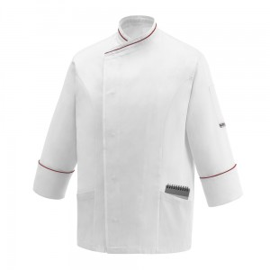 Bluza kucharska POCKET WHITE