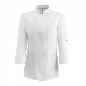 Bluza kucharska EASY GIRL ML WHITE
