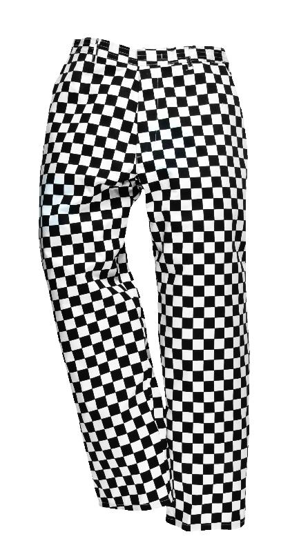 Spodnie kucharskie szachownica HARROW